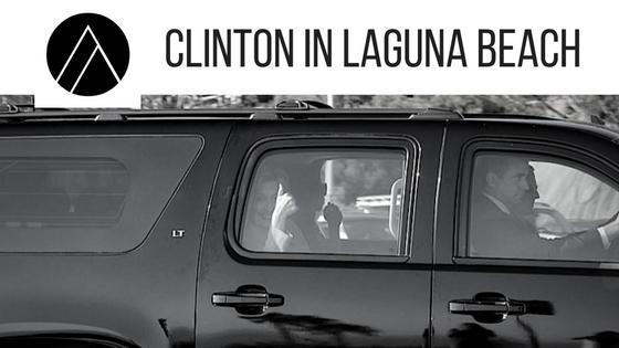 CLINTON IN LAGUNA